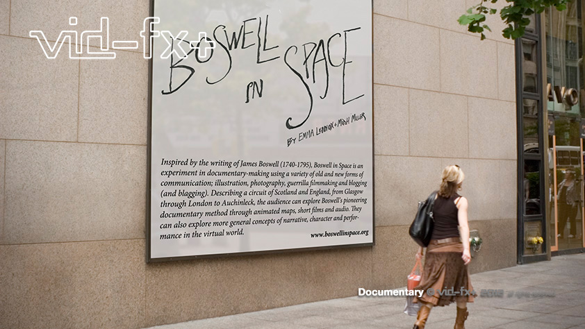 Boswell inSpace- Documentary