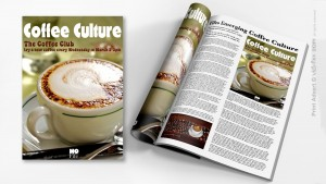'Coffee Club' Print Media Advert.