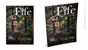 Magazine cover 'Cycle Fife'
