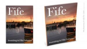 Magazine cover 'Fife Business'