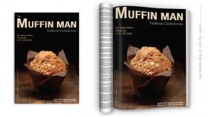 'the Muffin Man' Print Media Advert