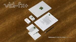 Branded stationary -Print media