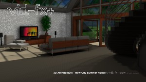 3D Architecture - Summerhouse